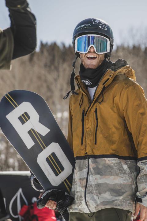 Ståle Sandbech er OL-klar. Foto: Matt Pain / Snowboardforbundet
