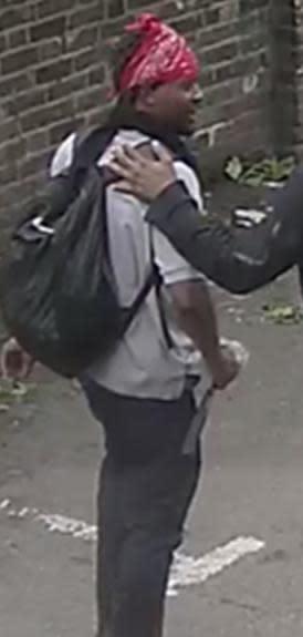 CCTV still from the assault