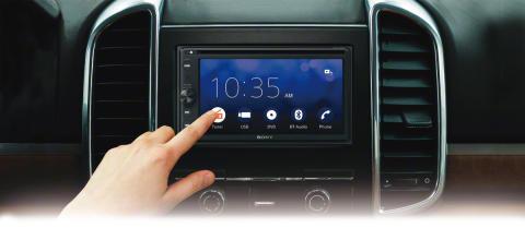 Novos Recetores AV In-Car da Sony, com conectividade melhorada com o smartphone e som imersivo