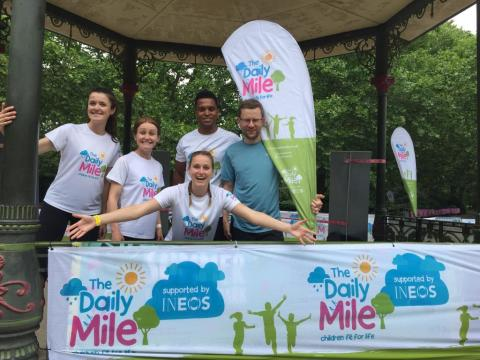 London Sport's partnership with The Daily Mile continues to flourish