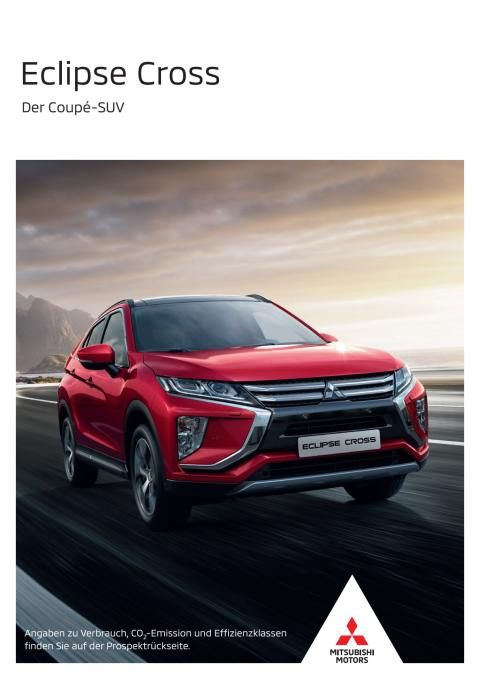 Eclipse Cross Broschüre