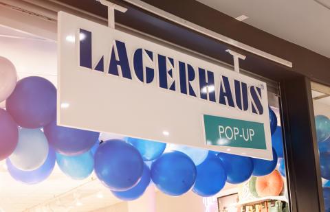 Lagerhaus pop up