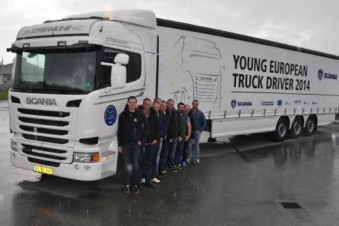 10 dygtige chauffører dystede om sejren i Aarhus