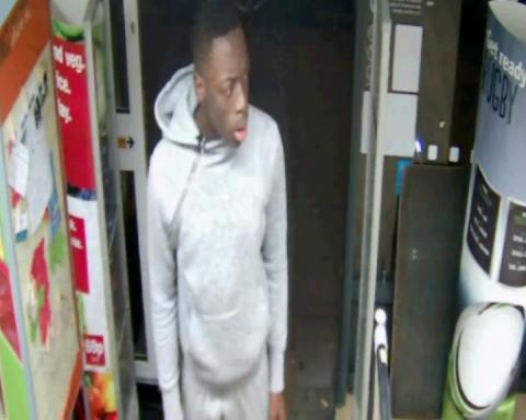 CCTV still of man sought by police