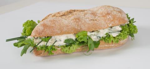 Frisksmurt Sandwich