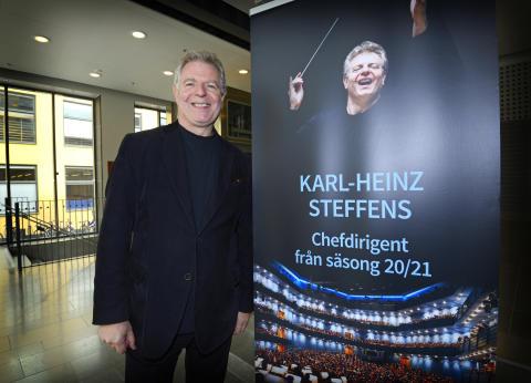 Karl-Heinz Steffens ny chefdirigent Norrköpings Symfoniorkester