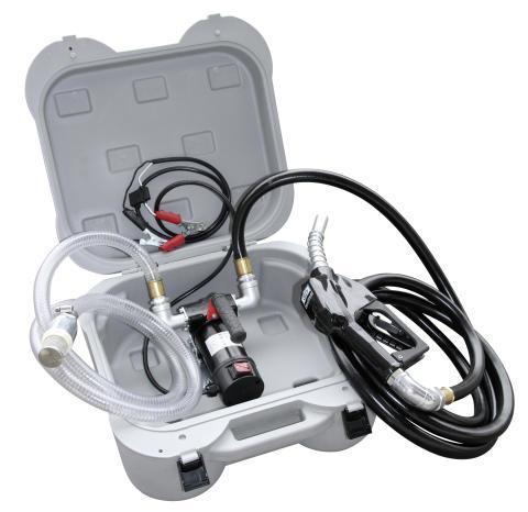 Elektrisk dieselpump för fältarbete från Ikaros Cleantech