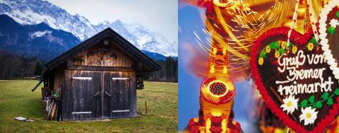 Bremen, Garmisch och Tyska Turistbyrån på branschmässan Travel News Market