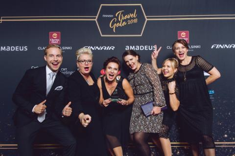 Clarion voted as the travel service provider of the year at Finnish Travel Gala