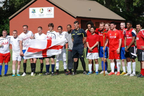 Five-a-side World Cup 2015 - finalists ENG vs WALES