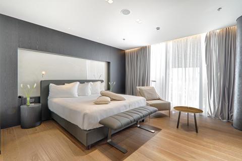 Albaniens erstes 5-Sterne-Hotel: Das Maritim Hotel Plaza Tirana.