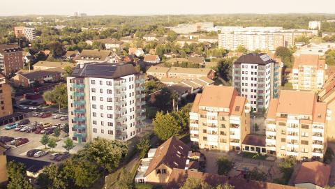 Förtur till nybyggda bostäder på Husensjö –  ett av Helsingborgshems initiativ för ökad rörlighet och fler positiva flyttkedjor