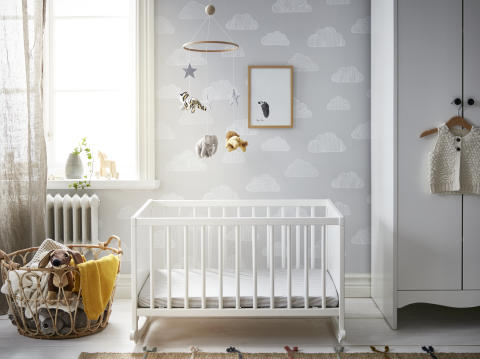 Create a nursery fit for royalty with IKEA