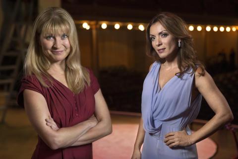 Lisa Jarenskog och Alexandra Pascalidou, SVT,  nominerade till Årets Berättare