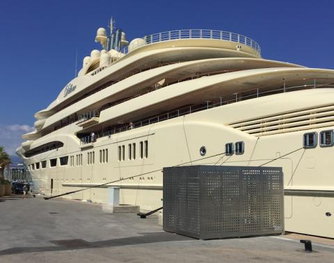 Cavotec connects world's largest super-yachts to shore power