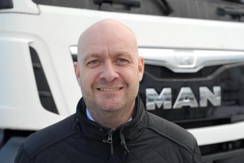 Michael Jensen – Ny driftsleder hos MAN i Greve