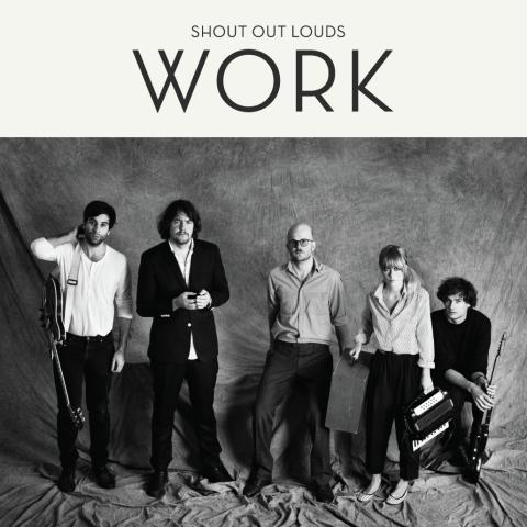 """Shout Out Louds släpper tredje albumet """"Work"""" 24 februari - turnerar över hela världen"""