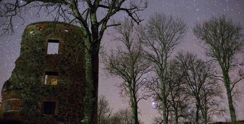 Mörby Slottsruin