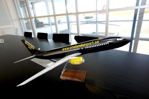 Växjö Småland Airport – Trafikutvecklingen 2012