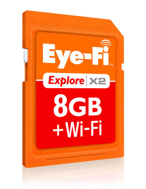 Eye-Fi Minneskort