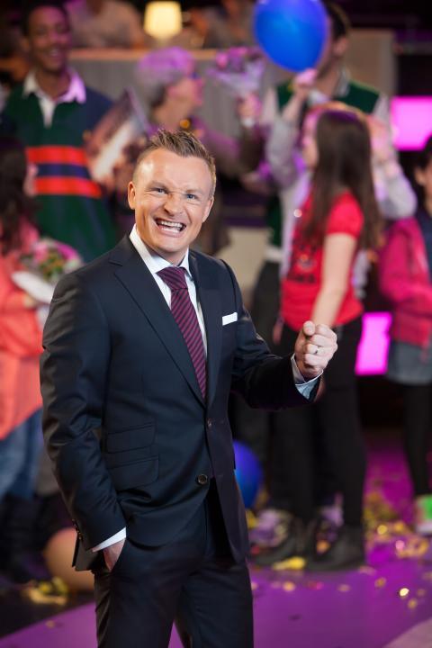 Janne Bylund firar ett år med BingoLotto