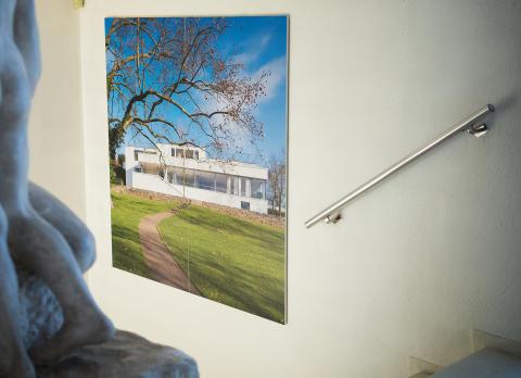 Villa Tugendhat. Utstilling i Villa Stenersen, 2016.