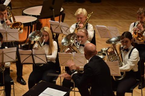 Tittelforsvarer NM skolekorps brass, Smørås Skolemusikk