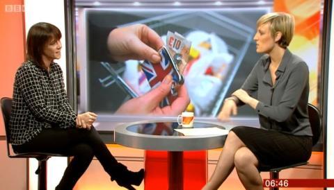 Iona Talking on BBC Breakfast