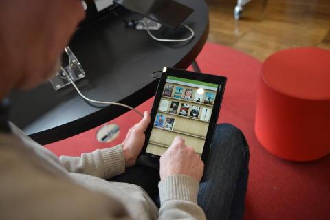 Nytt e-bokslabb på Stadsbiblioteket