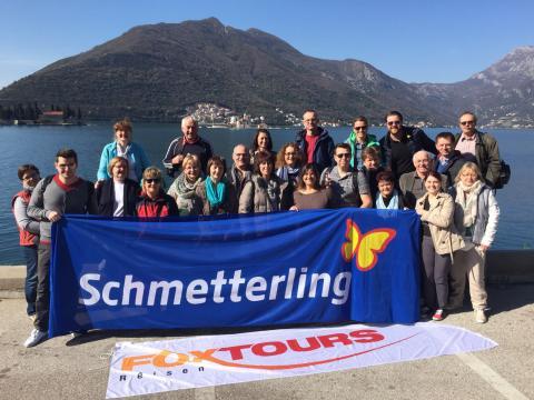 Exklusive Inforeise mit Schmetterling und FOX-TOURS nach Montenegro