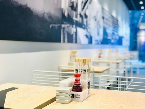 Nu har Sushi Yama öppnat i Forumgallerian, Uppsala