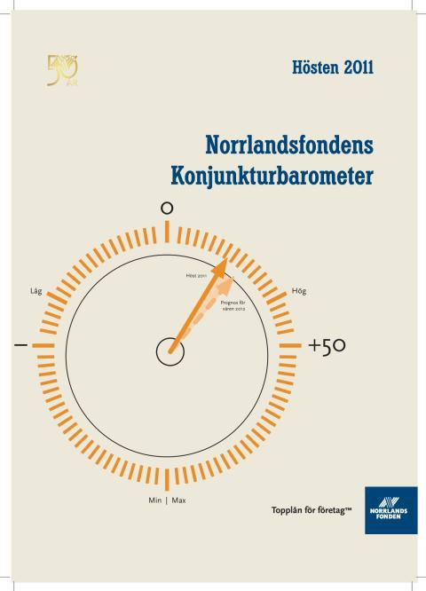 Norrlandsfondens konjunkturbarometer hösten  2011