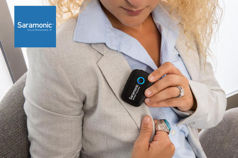 Saramonic Blink 500 – ideaalne juhtmevaba mikrofonisüsteem