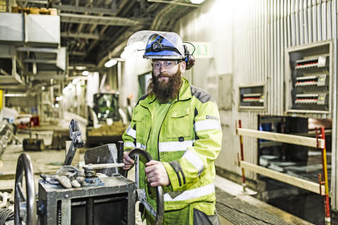Liam Habbershaw arbetsledare rivning Delete Umeå