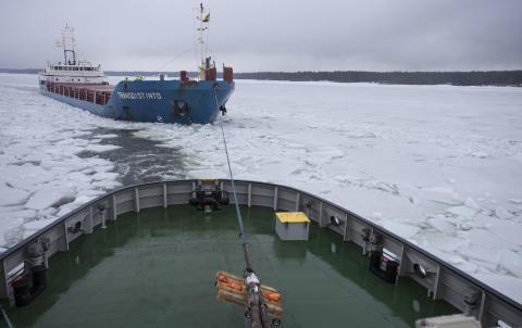 Isforskning ger bättre sjöfart