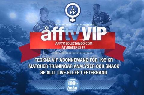 Åtvidabergs FF lanserar egen Netflix
