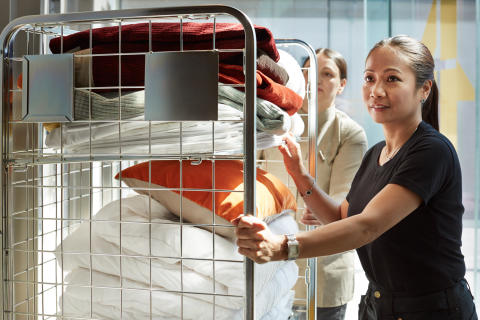Scandic satsar på utbildning för housekeeping – hoppas på 100 nya medarbetare till sommaren
