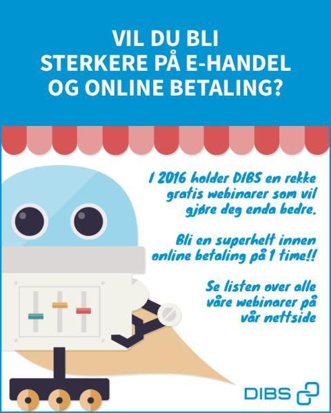 Vil du bli sterkere på e-handel og online betaling?