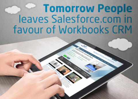 Tomorrow People leaves Salesforce.com in favour of Workbooks CRM