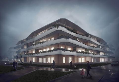 Hökerum Byggs arkitekter vinner pris för innovativ arkitektur