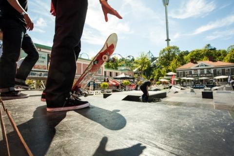 Världsstjärnor bokade för Skate på Liseberg