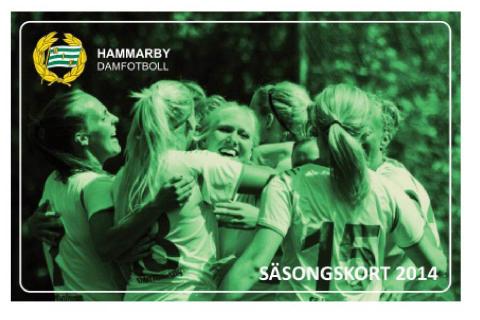 Dags att köpa säsongskort till Hammarby Damfotboll