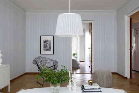 Mr Perswall Captured Reality - White Wood Panelling
