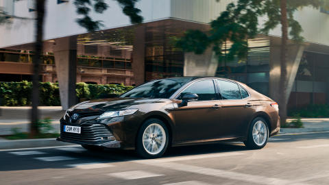 Eksklusiv visning av nye Toyota Camry - Ytre Namdal