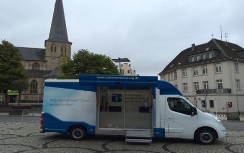 Beratungsmobil der Unabhängigen Patientenberatung kommt am 8. Februar nach Mönchengladbach (Rheydt).