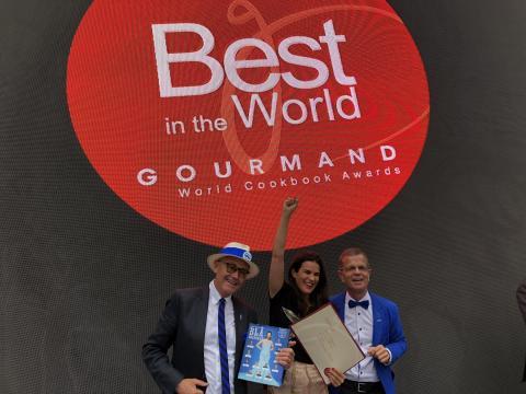 Blå kokboken - Gourmand World Cookbook Awards