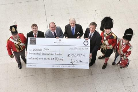 Battle of Waterloo Commemorative Medals Raise £200,000 Pounds for Waterloo 200 Charity