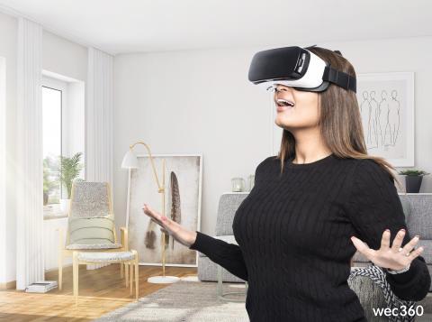 """""""Tillgången till Virtual Reality blir avgörande vid bostadsköp"""""""