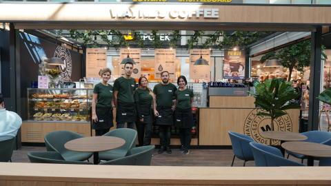 Succé med KRAV-märkt när Wayne's Coffee öppnar i Kongahälla Center