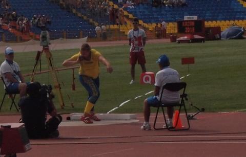 Nynäshamns Frida Åkerström missade precis finalen i kula på Universiaden i Kazan – studentidrottens motsvarighet till ett olympiskt spel